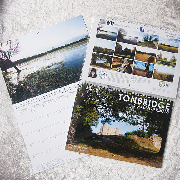 Tonbridge 2018 Calendar cover image by Jane Mucklow Photography
