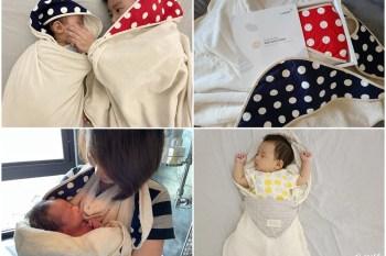 嬰兒浴巾推薦 - Nizio小蘑菇天然棉紗浴巾、跳跳糖四層紗浴包巾,讓爸媽幫寶寶沐浴洗澡不再手忙腳亂