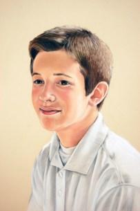 Andrew, pastel