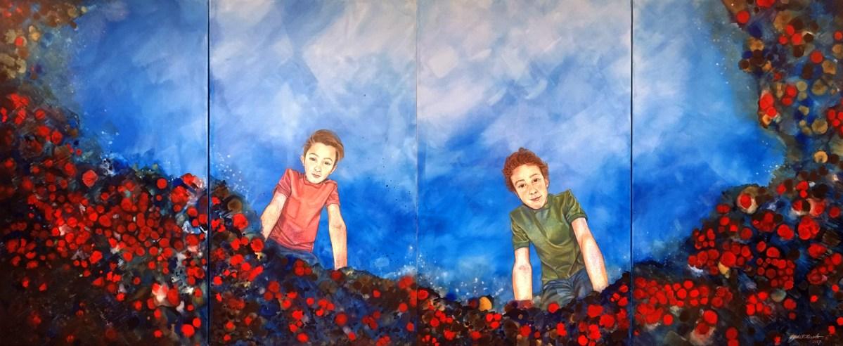 Jane Nicolo, contemporary art, painting