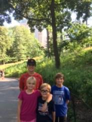 Kids in Central Park