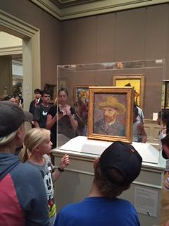 Micah at the Met