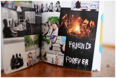 photo book inside spread