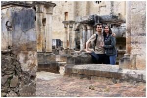 Ben & I in Santa Clara Monastery