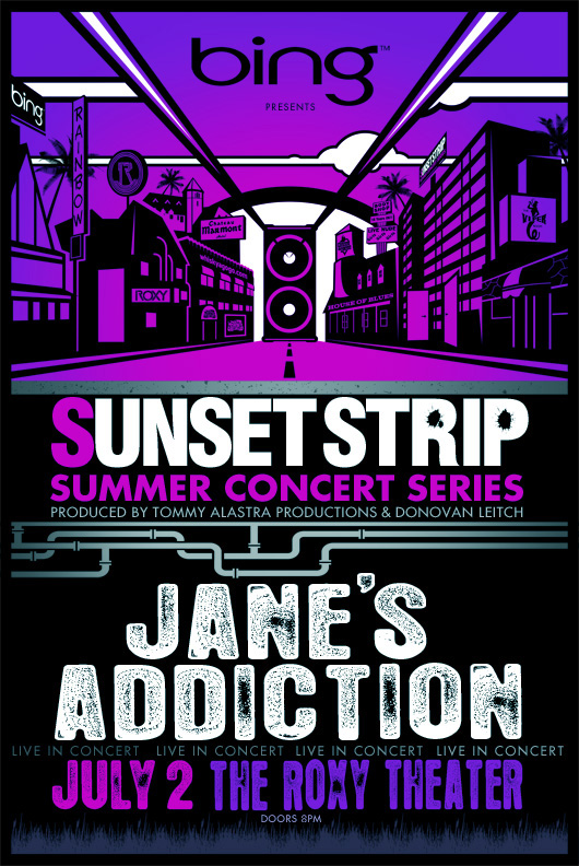 Jane's Addiction @ The Roxy, July 7, 2010