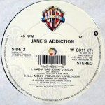 "Been Caught Stealing UK 12"" Vinyl Side 2"