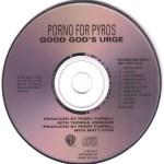 Good God's Urge Advance CD Disc