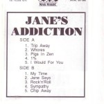 Jane's Addiction Poland Tape Inside