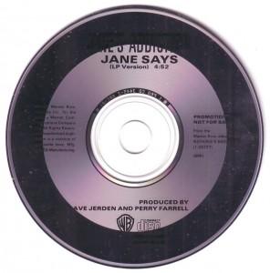 Jane Says (1988) Disc