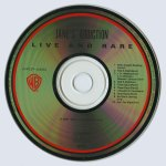 Live And Rare Japanese Disc