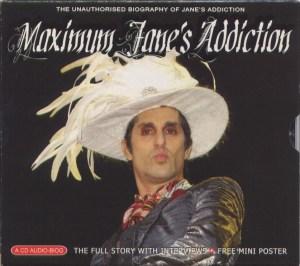 Maximum Jane's Addiction Slip Case Front