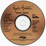 Nothing's Shocking Gold HDCD Disc