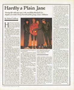 Rolling Stone: February 9, 1989