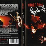 Three Days Movie US Cover & Back