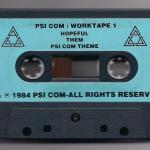 Worktape 1 - Side A