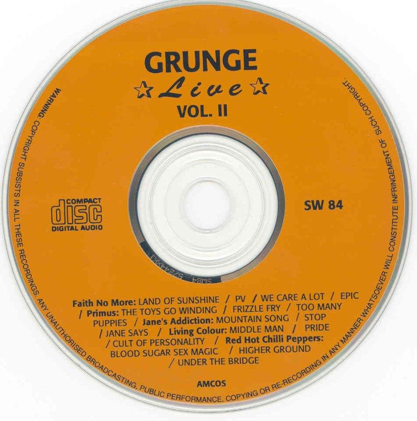 Grunge Vol. 2 Disc