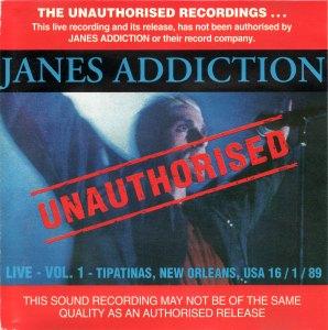 Jane's Addiction Love Vol. 1 Cover (v1)