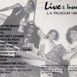 Live & Insane U-Card
