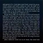 Live And Profane (1CD) Inside 3