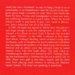 Live And Profane (1CD) Inside 5