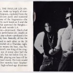 Live And Profane 2CD Booklet Pages 1-2