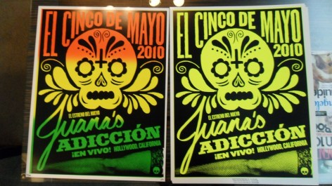 Jane's Addiction @ The Bardot Posters