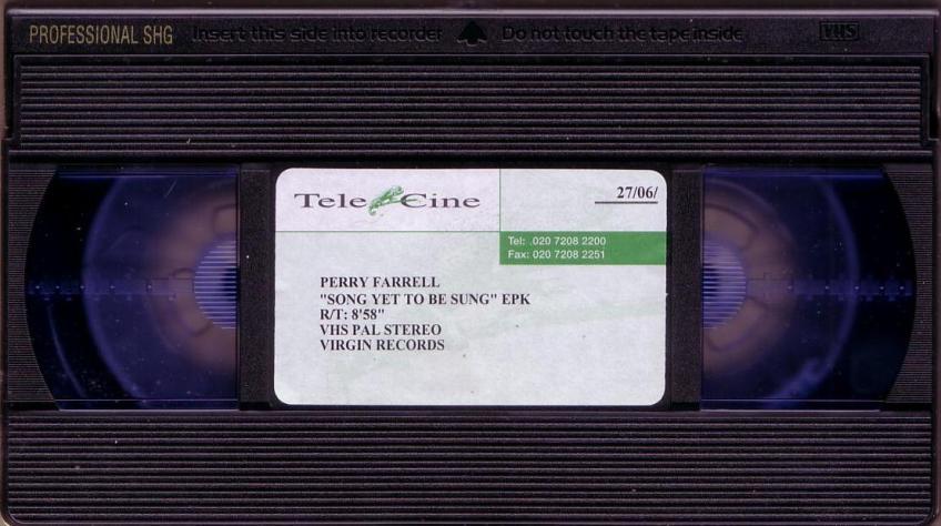 UK Promo EPK Tape