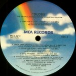 Dudes Vinyl Side 2