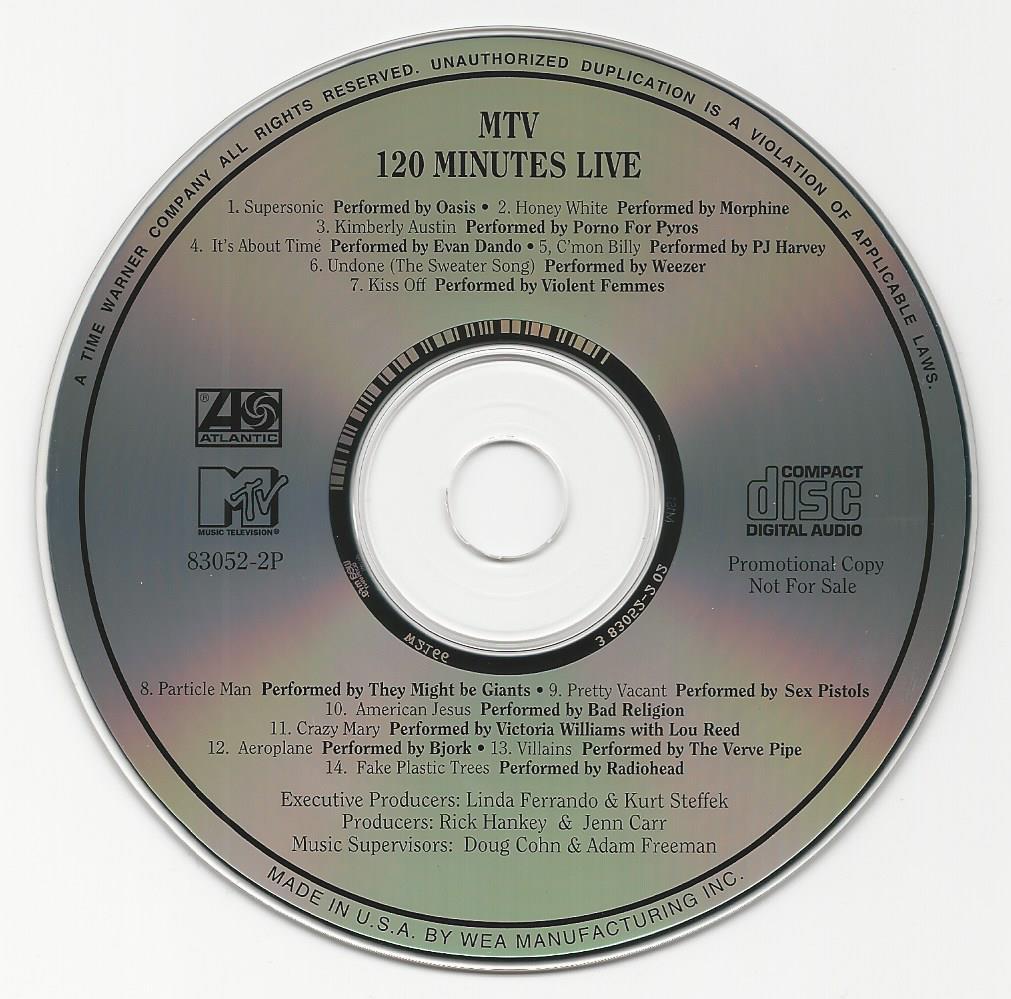 Mtv 120 Minutes Live  Janesaddictionorg