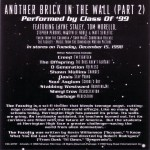 Another Brick In The Wall Promo v1 Back