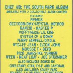 South Park: Chef Aid Sticker