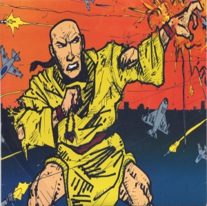 Monk With Gun Cover