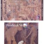 Woodstock '94 (Box Set) Discs 1&2 Cover & U-Card
