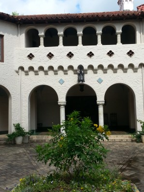 Arches in the Courtyard