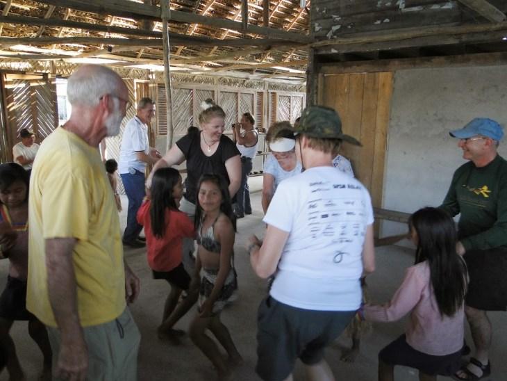Dancing in Ecuador