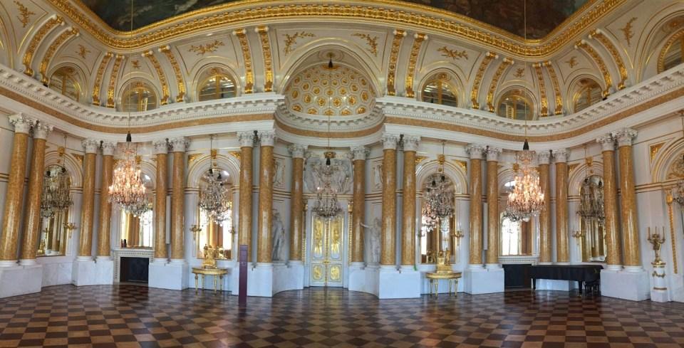 palace Warsaw Poland gold vacation travel
