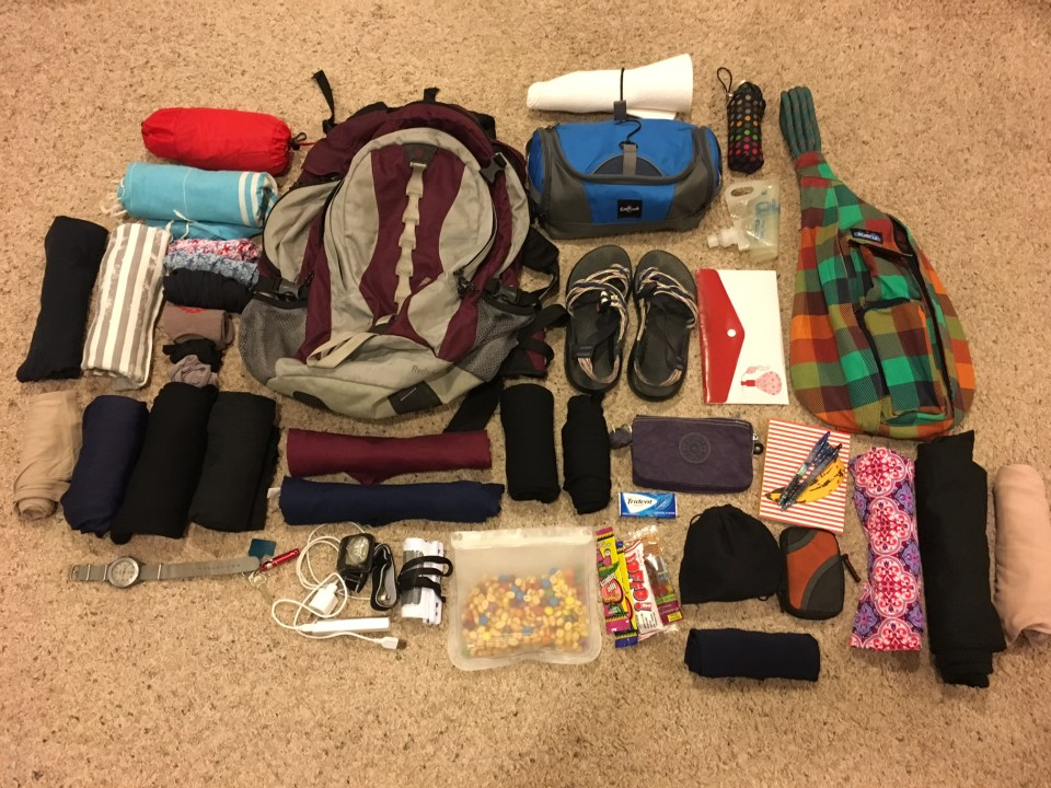 women's packing list for Puerto Rico