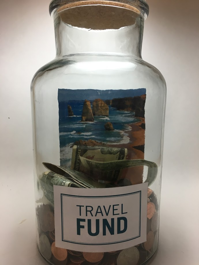 DIY travel fund jar Christmas gift ideas for female travelers