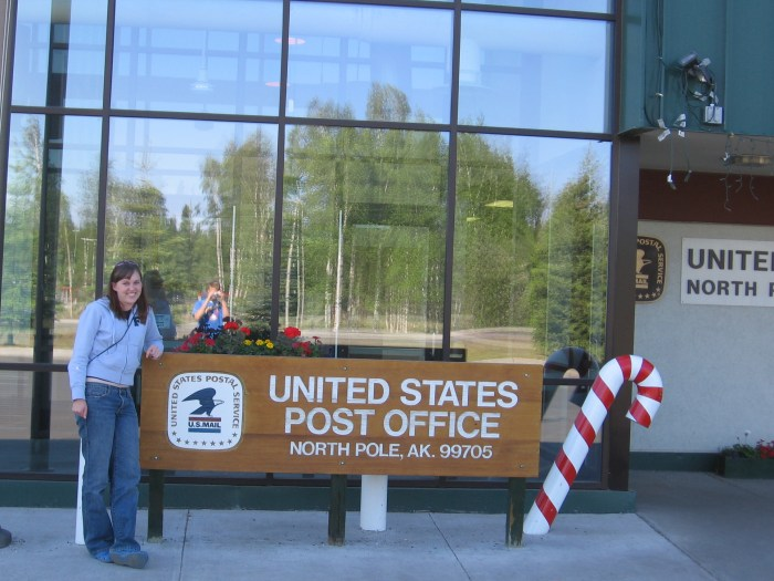 North Pole, Alaska Post Office