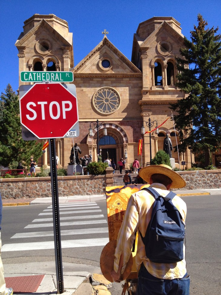 Artist in Santa Fe, New Mexico