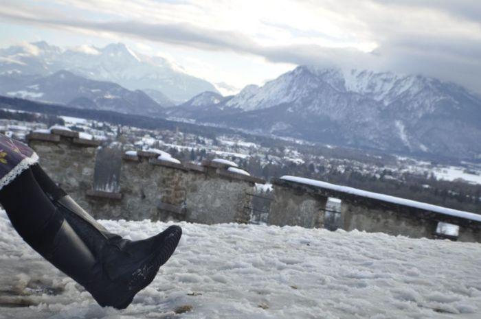 Waterproof Teva boots Alps travel shoes for women