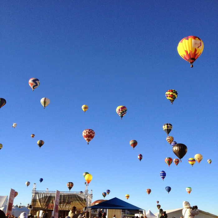 New Mexico weekend getaway Albuquerque International Balloon Fiesta women who travel vacation
