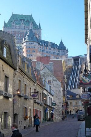 Quebec City train travel tips for Canada women travelers vacation