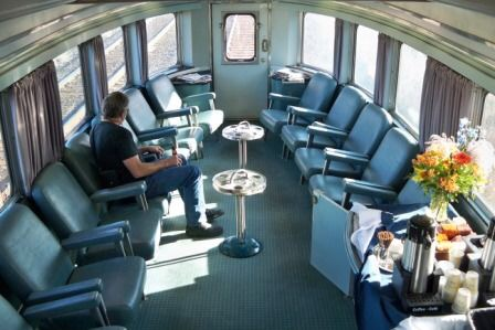 train park car train travel tips for Canada women travelers vacation VIA Rail