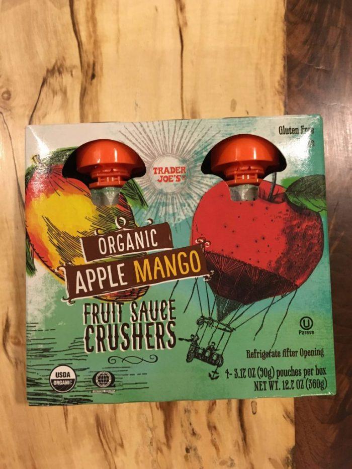 Travel Survival Food: fruit puree