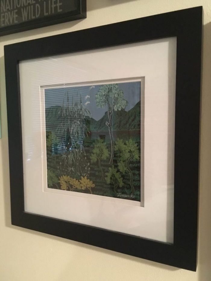 Framed Batik