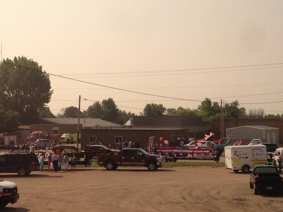 Parade Stanley North Dakota 4th of July