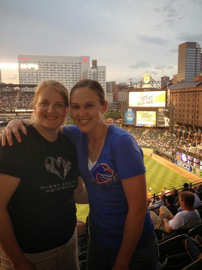 fun work trips Baltimore Os baseball