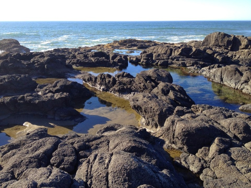 Yachats Oregon Coast vacation travel tide pools