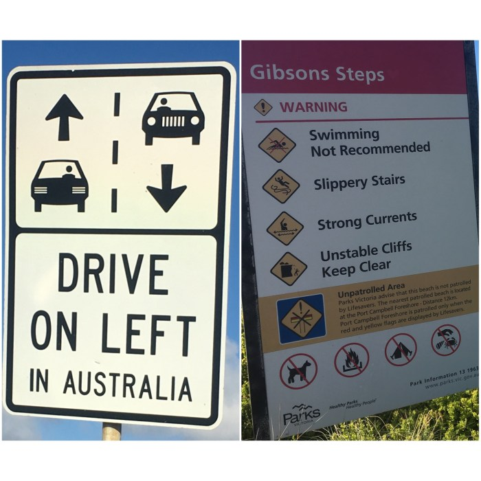 funny Australian signs vacation women who travel
